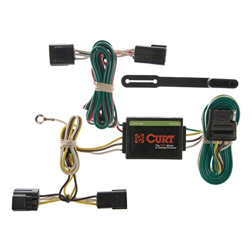 CURT 55360 Vehicle-Side Custom 4-Pin Trailer Wiring Harness for Select Honda Passport, Isuzu Amigo, ()