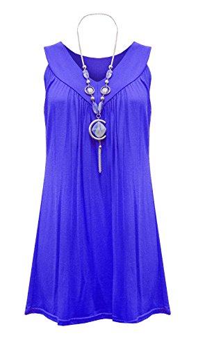 Fatal Fashion - Vestido - ajustado - para mujer azul real