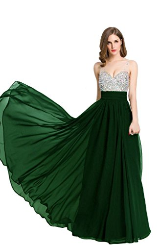 Verde Donna Senza Emily Vestito Beauty maniche Moda qxYRHwzU