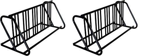 Hollywood Racks Dual Use 5-10 Bike Commercial Parking Rack (2-(Pack))
