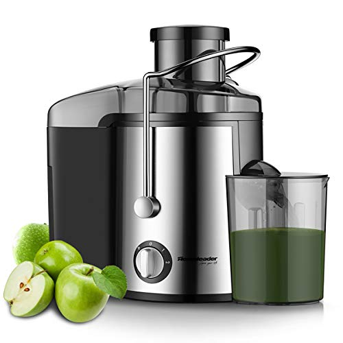 Lowest Price! Homeleader Juicer Juice Extractor 3 Speed Centrifugal Juicer with Wide Mouth, for Frui...
