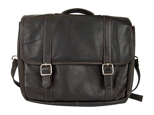 Latico Leathers Heritage Laptop Merger Briefcase, Authentic Luxury Leather, Designer Fashion, Top Quality Leather, Cafe, one size