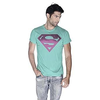 Creo Superman Pink T-Shirt For Men - Xl, Green