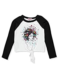 Miss Popular Girls' L/S Crop Top
