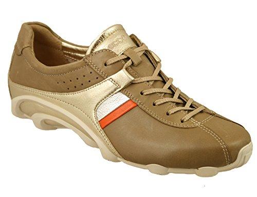 para ECCO Cordones Arena Zapatos de Mujer Beige rwSEwxq6