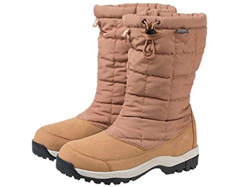 キャラバン レディース スノーキャラバン SHC_8S ライトブラウン SNOW CARAVAN light brown ウィンターブーツ WINTER BOOTS