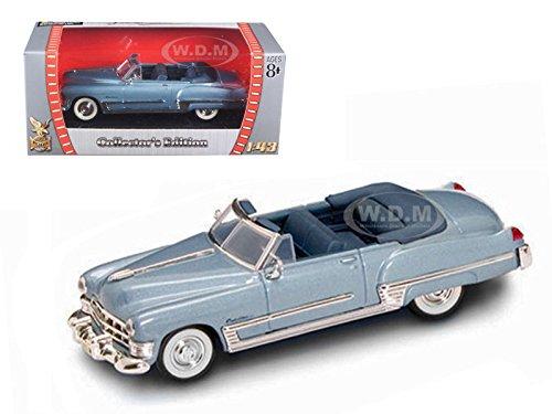 1949 CADILLAC COUPE DE VILLE MET.BLUE 1/43 MODEL CAR BY ROAD SIGNATURE 94223