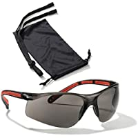 Shooting Glasses Sports Safety Goggles Protective Eyewear For Women (1 Pair (Tinted), 1 Case, 1 Neck cord)