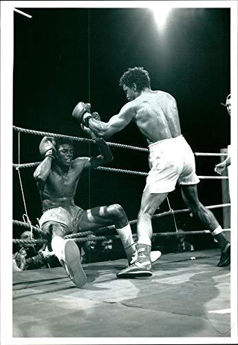 (Vintage photo of Boxer Chris)