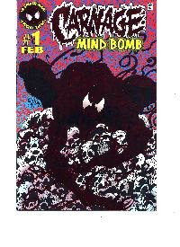 Carnage Mind Bomb #1 Foil Cover Special Event Comic