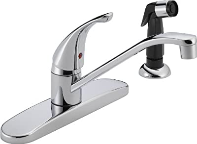 Single Handle Kitchen Faucet with Side Spray