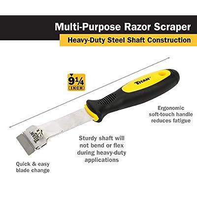 Titan 17008 Multi-Purpose Razor Scraper Set: Automotive