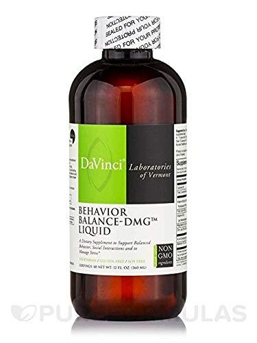 Davinci Labs Líquido de equilibrio de comportamiento DMG (12oz) - Da Vinci / Foodscience * nueva fórmula *: Amazon.es: Salud y cuidado personal