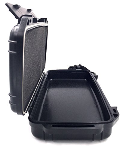 F.e.s.s Fess Odor Resistant Case 8.5'' x 4.5'' Travel Storage Stash Box Container - Fits Stash Jar , Grinder , Raw Cone or Papers, Lighter and More Accessories by F.E.S.S. (Image #1)