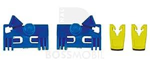 Bossmobil LAGUNA 2 II (BG0/1_), LAGUNA 2 II Grandtour (KG0/1_), Delantero derecho o izquierdo, kit de reparación de elevalunas eléctricos
