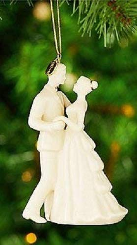 Annual Porcelain - Lenox 2018 Bride & Groom Wedding Dance Annual Porcelain First Christmas ornament. New in box