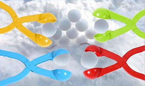 sea-junop Outdoor Creative Winter Snow Fight Snowball Maker Clip-Random Color