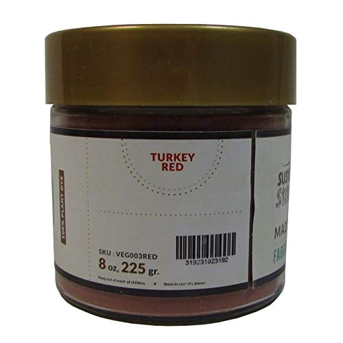 Organic Cotton Plus Natural Vegetable Dye Powder - Turkey Red ()