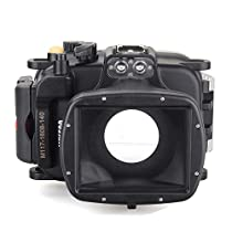 EACHSHOT 40m/130ft Underwater Diving Camera Housing for Sony DSC WX500