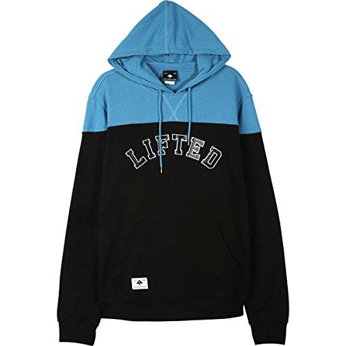 (LRG Mens Twin Peaks Hoody Pullover Sweatshirts X-Large Black)