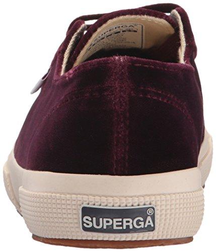Prune Violet Superga Velvtw Fashion Women's Sneaker 2750 rfwwYCqU