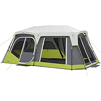 Amazon Com Core Two Room 12 Person Instant Cabin Tent