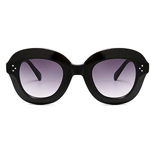 UV nouveauté nuances Été Hommes Grand la C1 Couleur Rivet designer Cadre de Lunettes Surdimensionné Plage brillants Vacances Soleil Pour Pour Décoration Conduite Exagéré C5 Femmes Protection pFdxZqw