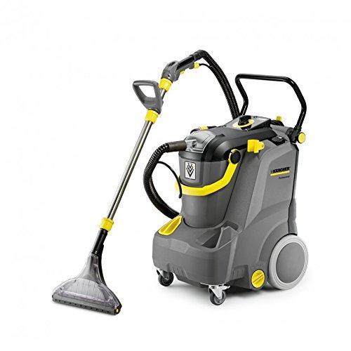Kärcher Puzzi 30/4 E Drum 1200W Black,Grey,Yellow - vacuum cleaners (Drum, Wet, Professional, Carpet, Hard floor, Black, Grey, Yellow, Water)