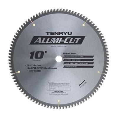 """Tenryu 10"""" x 100T x 5/8"""" Arbor Alumi-Cut Blade"""