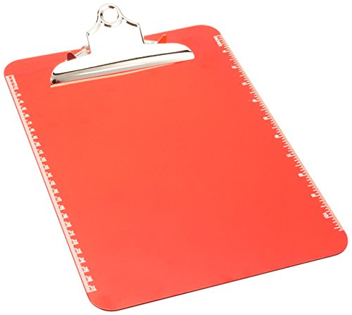 Sparco Transparent Plastic Clipboard SPR01864