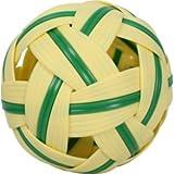 Rattan Ball Sepak Takraw Sport Kick Ball Rattan Wood Standard Size 5 Inches