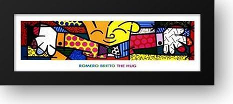 El abrazo 64 x 24 cuadro de Metallica de Britto, Romero: Amazon.es: Hogar