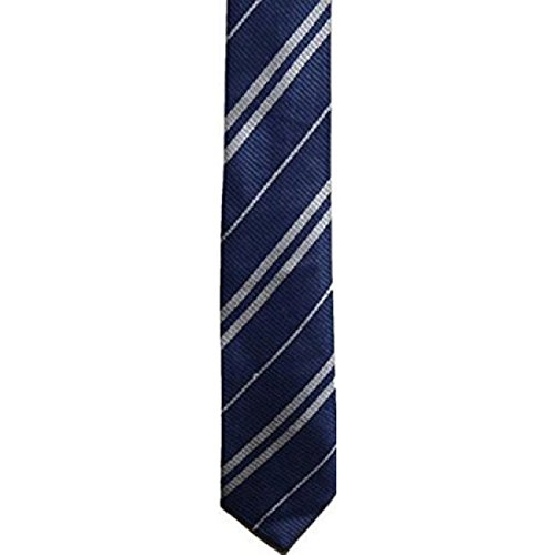 School Uniform Neckties - Wizard Pinstripe Costume Tie (Regular,Ravenclaw Blue) (Hogwarts School Uniform)