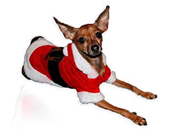 Grivey Perro Navidad Ropa de Perro Super Suave Puppy Disfraz con ...