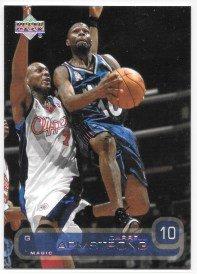 (Darrell Armstrong 2002-03 Upper Deck Orlando Magic Card #119)
