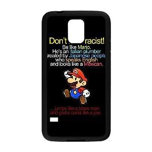 mario funny Samsung Galaxy S5 Cell Phone Case Black Gimcrack z10zhzh-3024995