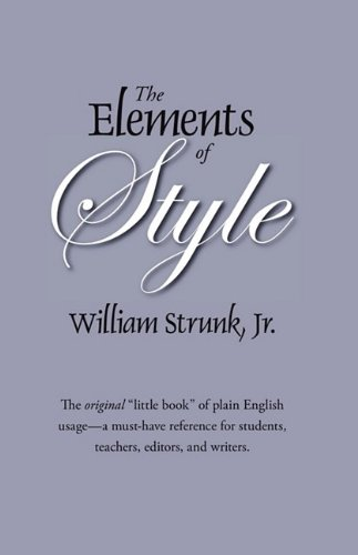 The Elements of Style: The Original Edition
