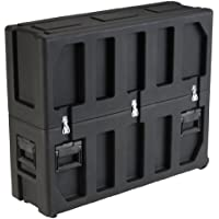 SKB Equipment Case, Roto-Molded LCD Case fits 32 - 37 Screens, Universal Foam Pad Set