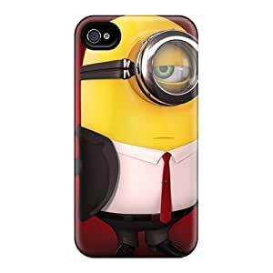 Protection Cases For Iphone 6plus / Cases Covers For Iphone(minion Hitman)