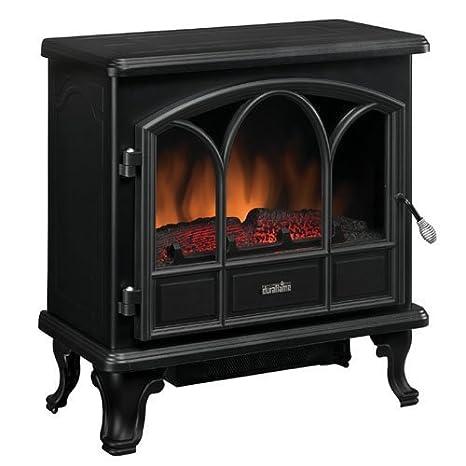 Duraflame 400 SQ FT 1500 W Eléctrico Estufa Chimenea calentador W/Llama Efecto | negro por Duraflame: Amazon.es: Hogar