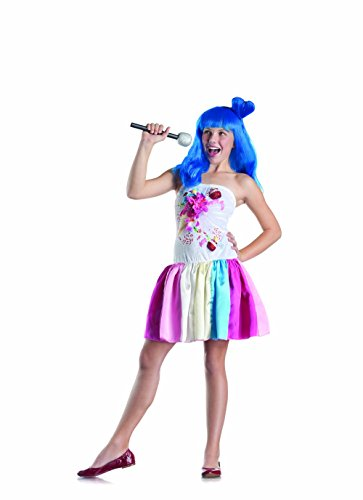 Party King Candy Girl Child Costume, 8-12 -