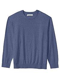 Amazon Essentials suéter de cuello redondo para hombre