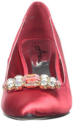 Daina Women's Dress Annie Red Shoes Pump q1A4cFEB