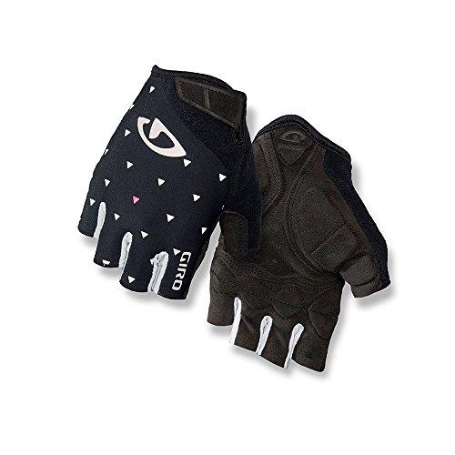 Giro Jag'Ette Womens Cycling Gloves Black Sharktooth Medium Black Womens Bike Glove