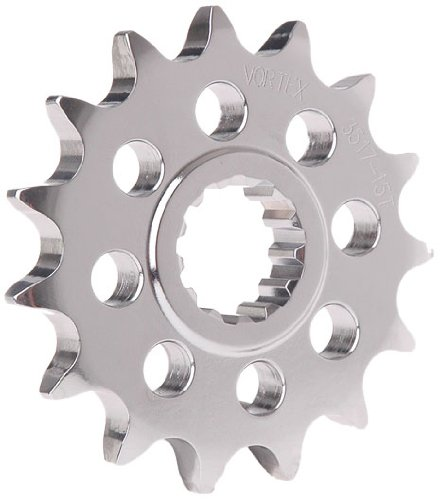 Vortex 2910-15 Silver 15-Tooth 525-Pitch Front Sprocket Vortex Racing
