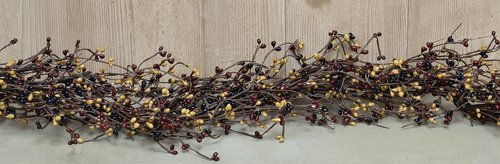 Pip Berry Garland (4 Feet Long) (Colonial Mix) by Olivia's Heartland