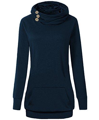 Button Pullover Sweatshirt - 7