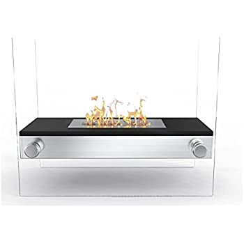 Amazon.com: Moda Flame braga Free Standing Bio chimenea de ...