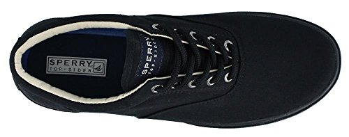 Top Shoes Halyard Sider Men's Noir Sperry Up Noir Casual Lace qdC0qvtw