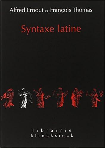 Resultado de imagen de ernout thomas syntaxe latine